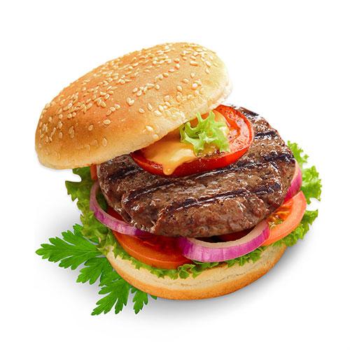 همبرگر ممتاز 80 درصد