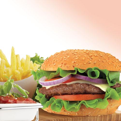همبرگر ممتاز