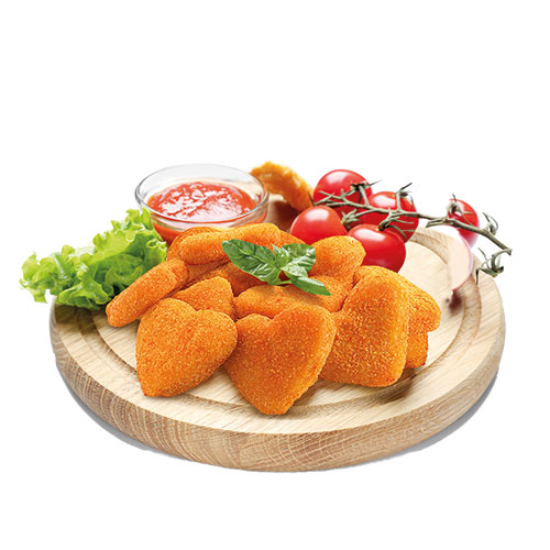 ناگت مرغ و پنیر ویژه 70 درصد